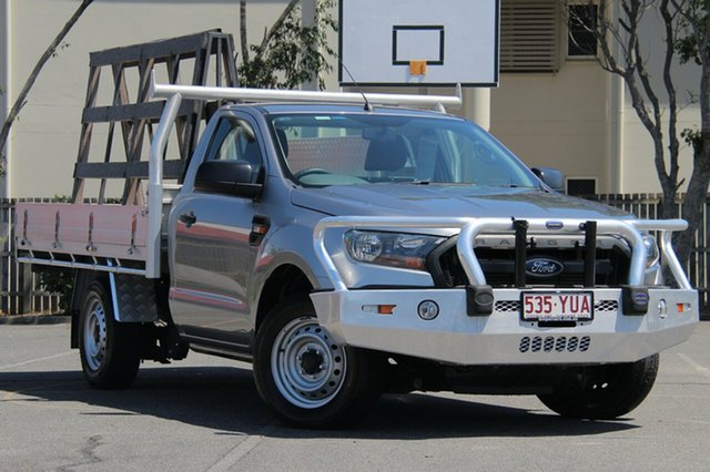 Used Ford Ranger PX MkII XL 4x2, 2015 Ford Ranger PX MkII XL 4x2 Silver 6 Speed Manual Cab Chassis