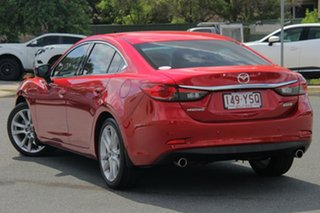 2013 Mazda 6 GJ1021 GT SKYACTIV-Drive Red 6 Speed Sports Automatic Sedan.