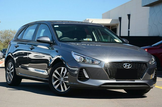 New Hyundai i30 PD2 MY19 Active, 2018 Hyundai i30 PD2 MY19 Active Iron Gray 6 Speed Sports Automatic Hatchback