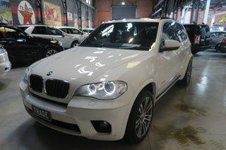 2012 BMW X5 E70 MY12.5 xDrive30d Steptronic White 8 Speed Sports Automatic Wagon