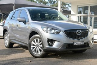 2013 Mazda CX-5 KE1031 MY14 Maxx SKYACTIV-Drive AWD Sport Silver 6 Speed Sports Automatic Wagon.