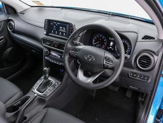 2018 Hyundai Kona OS Highlander (AWD) Blue Lagoon 7 Speed Auto Dual Clutch Wagon
