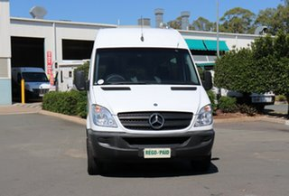 2009 Mercedes-Benz Sprinter NCV3 MY09 315CDI High Roof ELWB White 5 Speed Automatic Van.