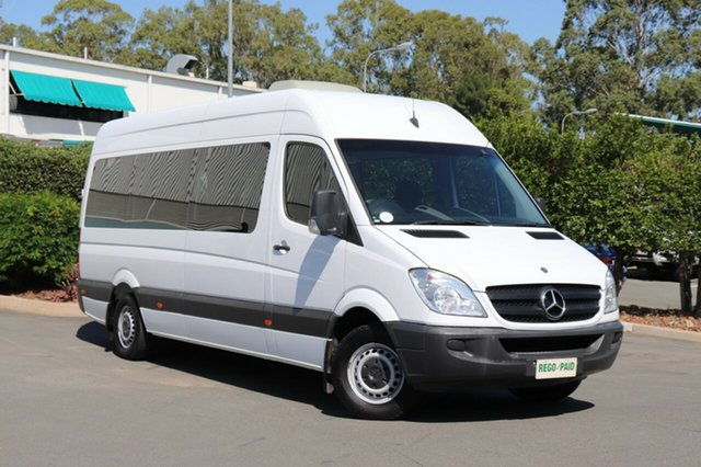 Used Mercedes-Benz Sprinter NCV3 MY09 315CDI High Roof ELWB, 2009 Mercedes-Benz Sprinter NCV3 MY09 315CDI High Roof ELWB White 5 Speed Automatic Van