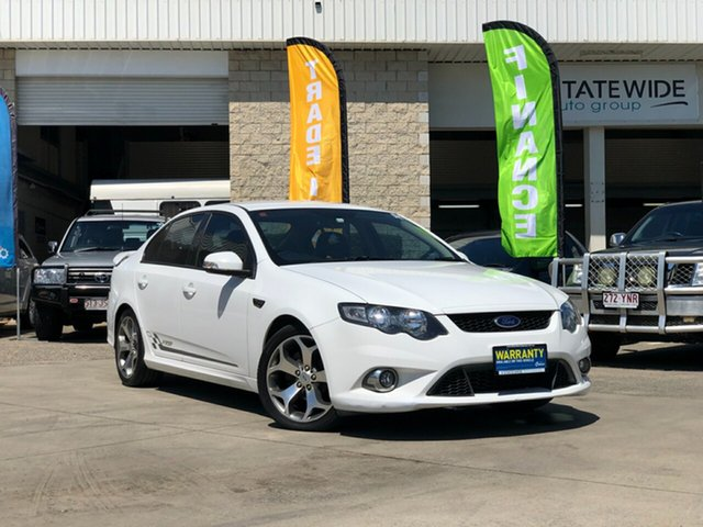 Used Ford Falcon FG XR6 50th Anniversary, 2010 Ford Falcon FG XR6 50th Anniversary White 6 Speed Sports Automatic Sedan