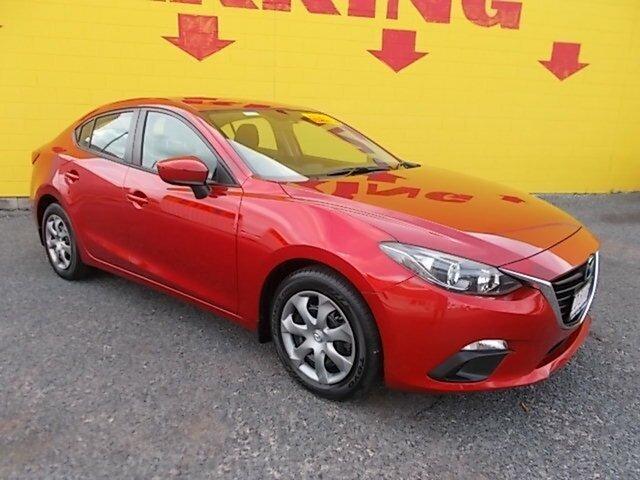 Used Mazda 3 BM5278 Neo SKYACTIV-Drive, 2014 Mazda 3 BM5278 Neo SKYACTIV-Drive Red 6 Speed Sports Automatic Sedan