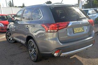 2016 Mitsubishi Outlander ZK XLS Grey Constant Variable Wagon.