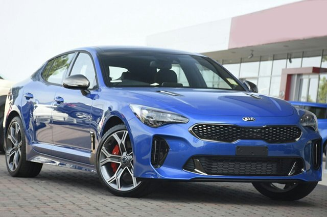 New Kia Stinger CK MY19 GT Fastback, 2019 Kia Stinger CK MY19 GT Fastback Deep Chroma Blue 8 Speed Sports Automatic Sedan