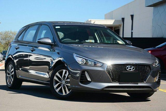 New Hyundai i30 PD2 MY19 Active, 2018 Hyundai i30 PD2 MY19 Active Iron Grey 6 Speed Automatic Hatchback
