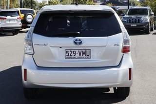2014 Toyota Prius v ZVW40R Silver Pearl 1 Speed Constant Variable Wagon Hybrid