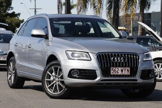 2015 Audi Q5 8R MY15 TDI S Tronic Quattro Silver 7 Speed Sports Automatic Dual Clutch Wagon.