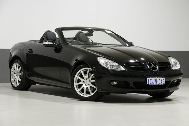 Used Mercedes-Benz SLK280 R171 , 2006 Mercedes-Benz SLK280 R171 Black 7 Speed Automatic G-Tronic Convertible