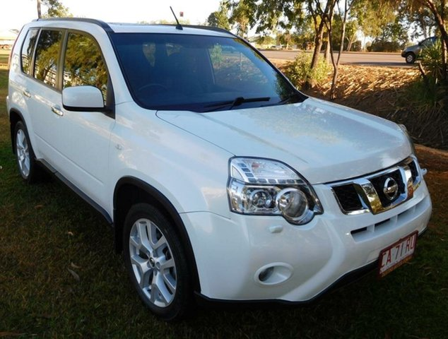 Used Nissan X-Trail T31 Series V TS, 2013 Nissan X-Trail T31 Series V TS White 6 Speed Automatic Wagon