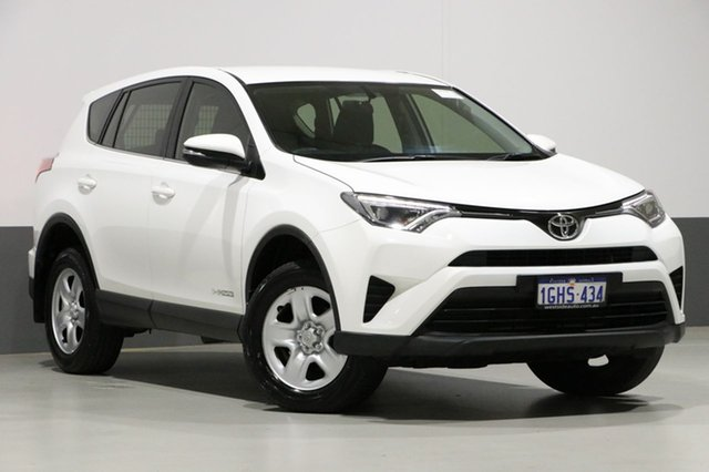 Used Toyota RAV4 ALA49R MY17 GX (4x4), 2017 Toyota RAV4 ALA49R MY17 GX (4x4) White 6 Speed Automatic Wagon