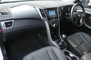 2016 Hyundai i30 GD4 Series II MY17 Active X White 6 Speed Manual Hatchback.