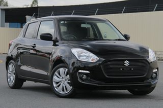 2017 Suzuki Swift AZ GL Navigator Black 1 Speed Constant Variable Hatchback.