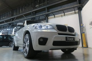 2012 BMW X5 E70 MY12.5 xDrive30d Steptronic White 8 Speed Sports Automatic Wagon.