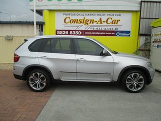2011 BMW X5 E70 MY12 xDrive30d Steptronic Silver 8 Speed Sports Automatic Wagon