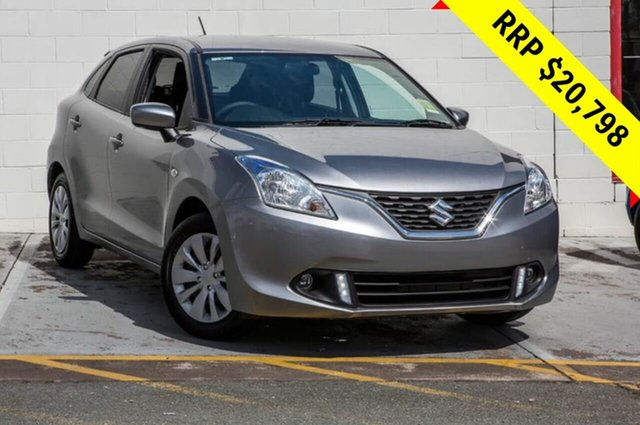 Demo Suzuki Baleno EW GL, 2019 Suzuki Baleno EW GL Silver 4 Speed Automatic Hatchback