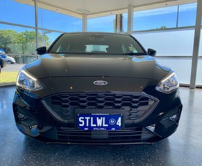 2018 Ford Focus SA 2019MY ST-Line Shadow Black 8 Speed Automatic Hatchback.