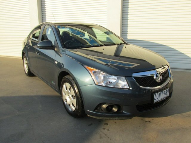Used Holden Cruze JH Series II MY12 CD, 2012 Holden Cruze JH Series II MY12 CD Blue 6 Speed Sports Automatic Sedan