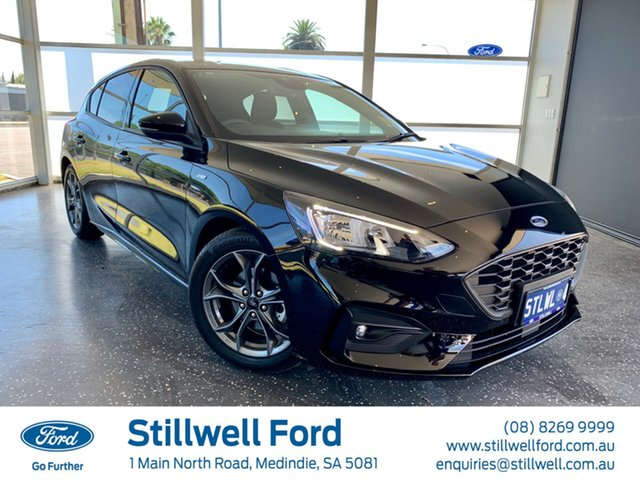Demo Ford Focus SA 2019MY ST-Line, 2018 Ford Focus SA 2019MY ST-Line Shadow Black 8 Speed Automatic Hatchback