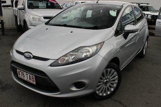 2012 Ford Fiesta WT LX Silver 5 Speed Manual Hatchback.