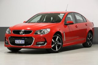 2017 Holden Commodore VF II MY17 SV6 Red 6 Speed Automatic Sedan.