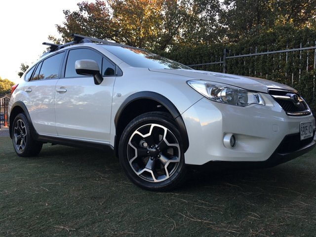 Used Subaru XV G4X MY13 2.0i Lineartronic AWD, 2013 Subaru XV G4X MY13 2.0i Lineartronic AWD White 6 Speed Constant Variable Wagon