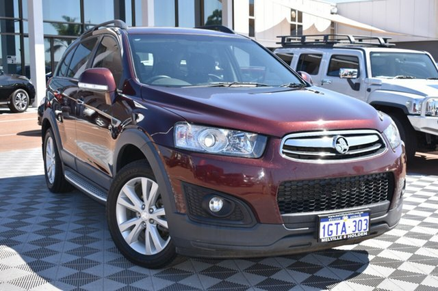 Used Holden Captiva CG MY14 7 AWD LT, 2014 Holden Captiva CG MY14 7 AWD LT Burgundy 6 Speed Sports Automatic Wagon