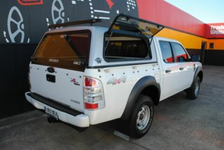 2010 Ford Ranger PK XL Crew Cab Cool White 5 Speed Automatic Utility.