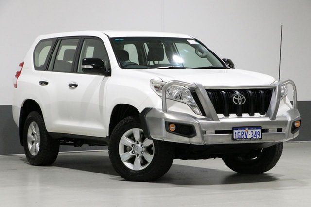 Used Toyota Landcruiser Prado KDJ150R MY14 GX (4x4), 2015 Toyota Landcruiser Prado KDJ150R MY14 GX (4x4) White 6 Speed Manual Wagon