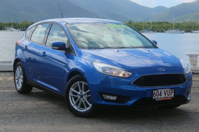 Used Ford Focus LZ Trend, 2015 Ford Focus LZ Trend Blue 6 Speed Manual Hatchback
