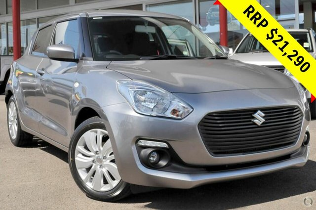 New Suzuki Swift AZ GL Navigator, 2019 Suzuki Swift AZ GL Navigator Premium Silver 1 Speed Constant Variable Hatchback