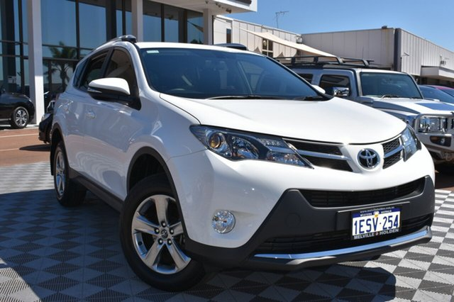 Used Toyota RAV4 ZSA42R MY14 GXL 2WD, 2015 Toyota RAV4 ZSA42R MY14 GXL 2WD White 7 Speed Constant Variable Wagon