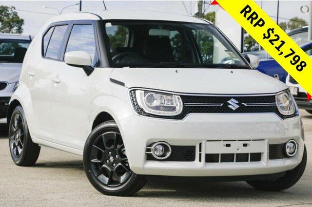 New Suzuki Ignis MF GLX, 2019 Suzuki Ignis MF GLX Pure White 1 Speed Constant Variable Hatchback