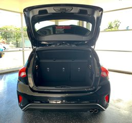 2018 Ford Focus SA 2019MY ST-Line Shadow Black 8 Speed Automatic Hatchback