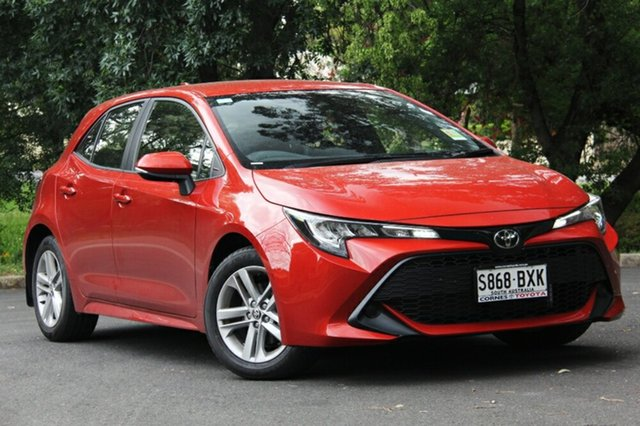 Demo Toyota Corolla Mzea12R Ascent Sport, 2018 Toyota Corolla Mzea12R Ascent Sport Volcanic Red 10 Speed Constant Variable Hatchback
