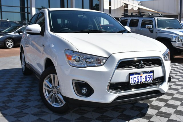 Used Mitsubishi ASX XB MY14 2WD, 2014 Mitsubishi ASX XB MY14 2WD White 6 Speed Constant Variable Wagon
