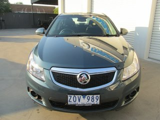 2012 Holden Cruze JH Series II MY12 CD Blue 6 Speed Sports Automatic Sedan.