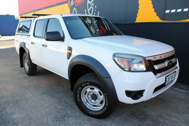 Used Ford Ranger PK XL Crew Cab, 2010 Ford Ranger PK XL Crew Cab Cool White 5 Speed Automatic Utility