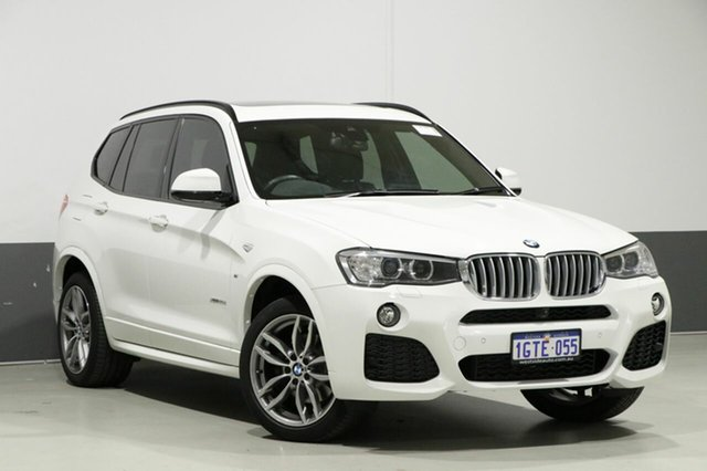 Used BMW X3 F25 MY17 Update xDrive 30D, 2017 BMW X3 F25 MY17 Update xDrive 30D White 8 Speed Automatic Wagon