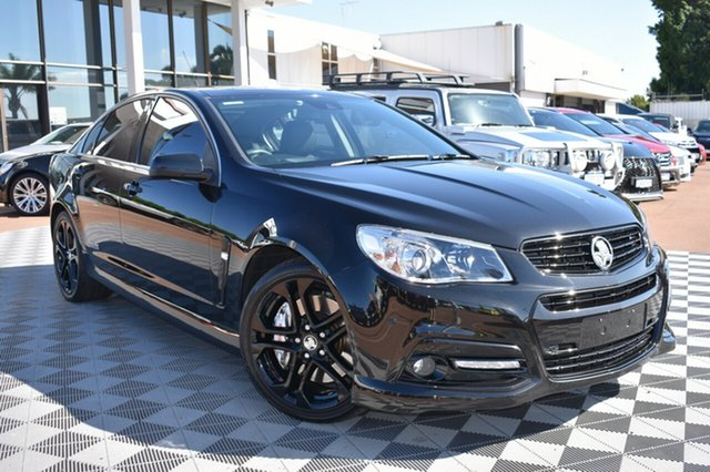 Used Holden Commodore VF MY15 SS V Redline, 2014 Holden Commodore VF MY15 SS V Redline Black 6 Speed Sports Automatic Sedan
