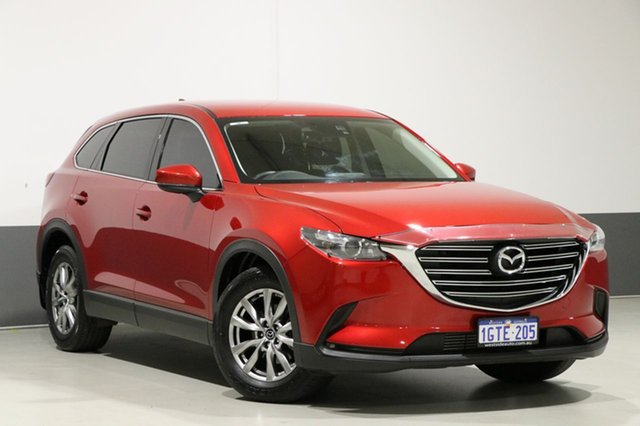 Used Mazda CX-9 MY16 Touring (FWD), 2016 Mazda CX-9 MY16 Touring (FWD) Soul Red 6 Speed Automatic Wagon