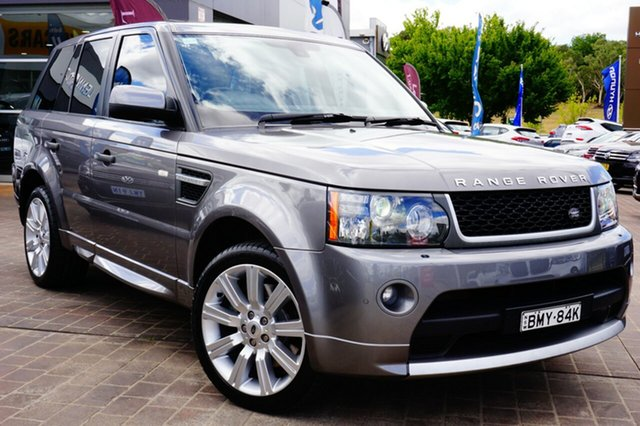Used Land Rover Range Rover Sport L320 10MY TDV6, 2010 Land Rover Range Rover Sport L320 10MY TDV6 Grey 6 Speed Sports Automatic Wagon