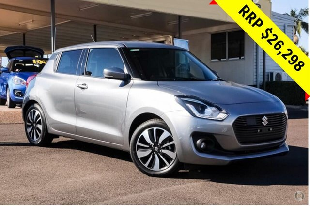 New Suzuki Swift AZ GLX Turbo, 2019 Suzuki Swift AZ GLX Turbo Premium Silver 6 Speed Sports Automatic Hatchback