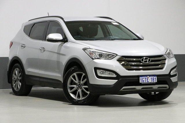 Used Hyundai Santa Fe DM Elite CRDi (4x4), 2014 Hyundai Santa Fe DM Elite CRDi (4x4) Silver 6 Speed Automatic Wagon