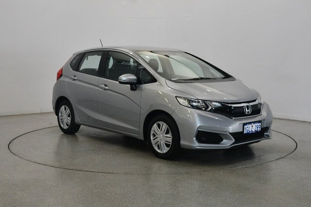 Used Honda Jazz GF MY18 VTi, 2018 Honda Jazz GF MY18 VTi Silver 1 Speed Constant Variable Hatchback