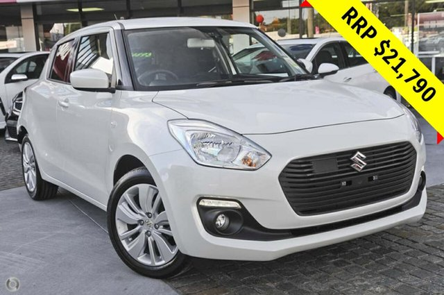 New Suzuki Swift AZ GL Navigator Safety Pack, 2019 Suzuki Swift AZ GL Navigator Safety Pack Pure White 1 Speed Constant Variable Hatchback