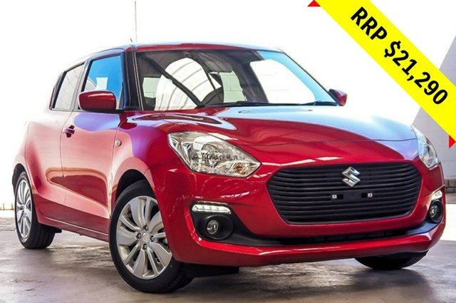 New Suzuki Swift AZ GL Navigator, 2019 Suzuki Swift AZ GL Navigator Burn Red 1 Speed Constant Variable Hatchback